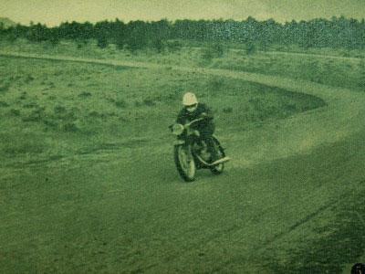 ヤマハ175cc ライト級レーサー。