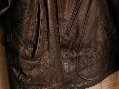 Leather Jacket - Aviators style