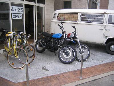 M&Ms motorcycle 移転オープン