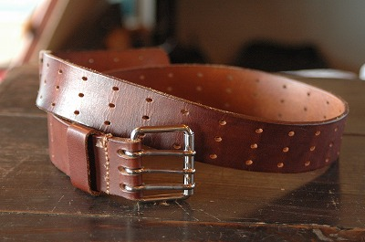 Leather Belt - Patrolman Style
