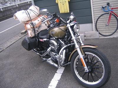 使用例 その2 (働くバイク編)