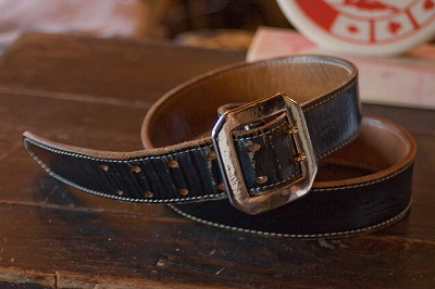 Leather Belt - Handsome Garrison Style