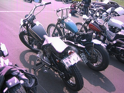 MOONEYES MOTORCYCLE SWAP MEET その2