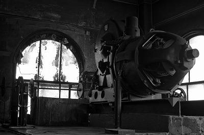 横浜松坂屋 エレベーター巻き上げ機 1944年製