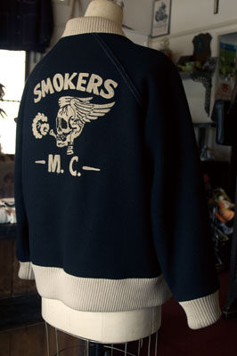 "星野商會xSIBRO THE ""SMOKERS M.C."" AWARD JACKET"