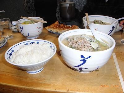 ラーメン・餃子・ライス