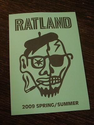 RATLAND様 2009 SPRING/SUMMER 展示会