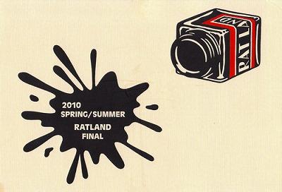 2010 SPRING/SUMMER RATLAND FINAL