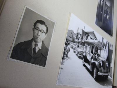 祖父の形見の眼鏡