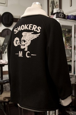 "SIBROxGENT-X, The ""SMOKERS M.C."" THREE QUARTER JACKET"