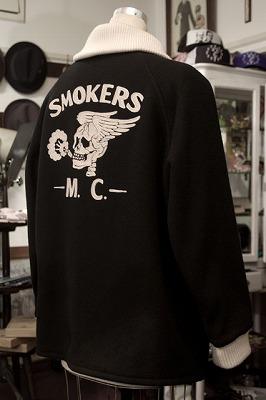 "SIBROxGENT-X, The ""SMOKERS M.C."" THREE QUARTER JACKET"