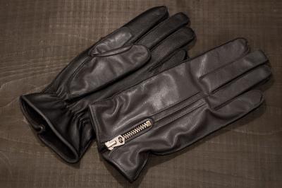 Semidress Riding Gloves, Two-tone Style