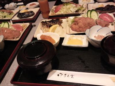 先日のディナー
