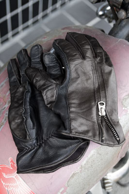 "経年変化 - Semi Dress Riding Gloves ""2-tone style"""