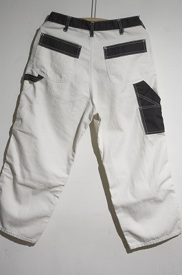 再入荷のお知らせ ― Painter Pants Two-tone style