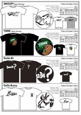 商品入荷のお知らせ ― 2012 S/S T-shirts