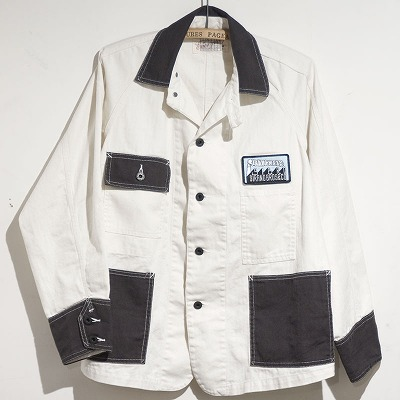 商品入荷のお知らせ — Chore Jacket Two-tone style, Charcoal