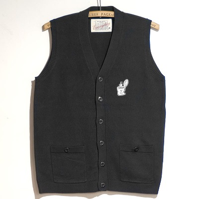 "Coming soon — Old Fart Knit Vest ""Seat of Honor"""