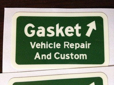 経年変化 - Special thanks ... GASKET