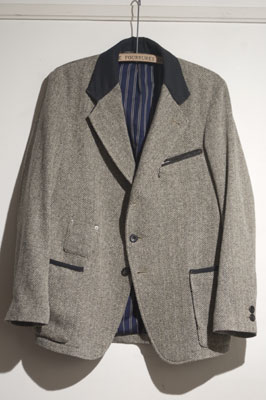 Coming soon, Cyclists Jacket, Nep tweed