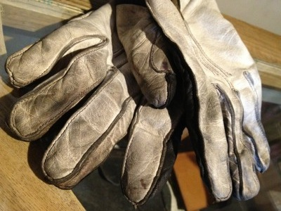 経年変化 ― Semi Dress RIding Gloves