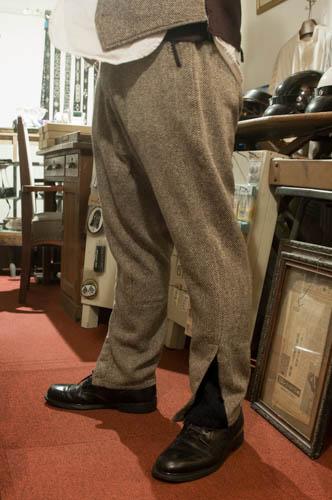 商品入荷のお知らせ ― Riding Trousers, Nep Tweed