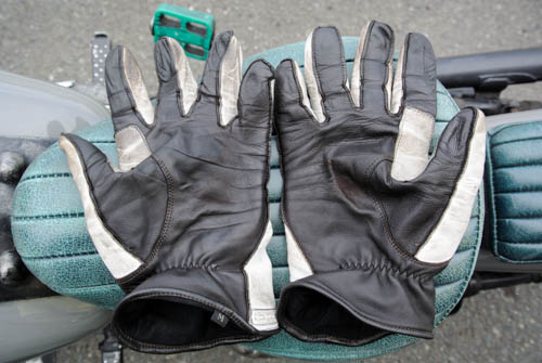 経年変化 ― Semi Dress Riding Gloves