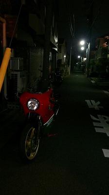 バイクでお出掛け