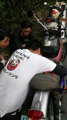 バイクでお出かけ