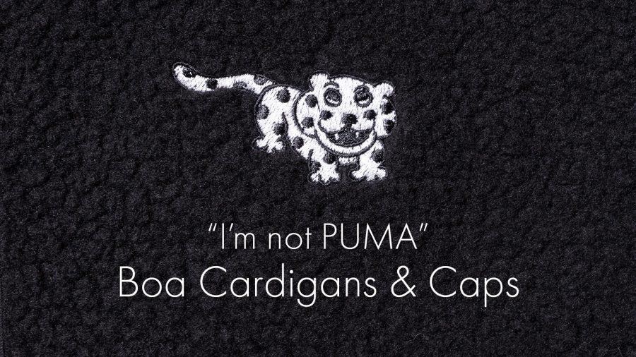 Boa Cardigans Caps Im not PUMA