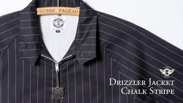 Drizzler Jacket Chalk Stripe