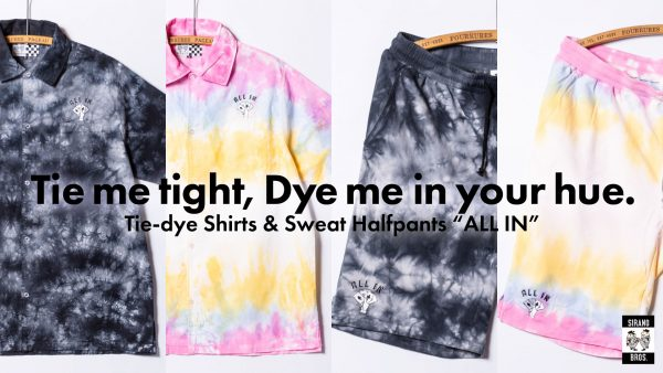 TieDye Shirts HalfPants
