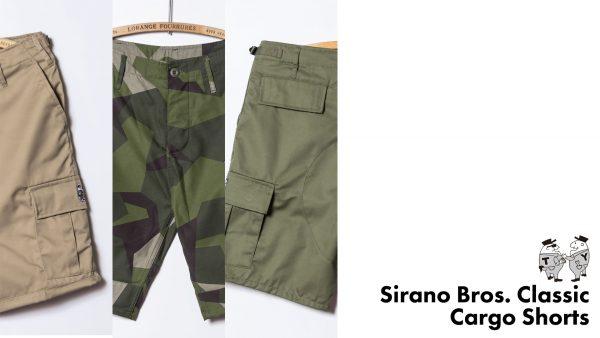 SiranoBros. Classic Series Cargo Shorts miniMr.T&M.Y