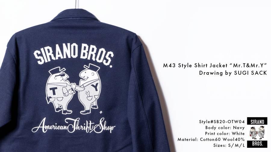 M43 Style Shirt Jacket Mr.T&Mr.Y