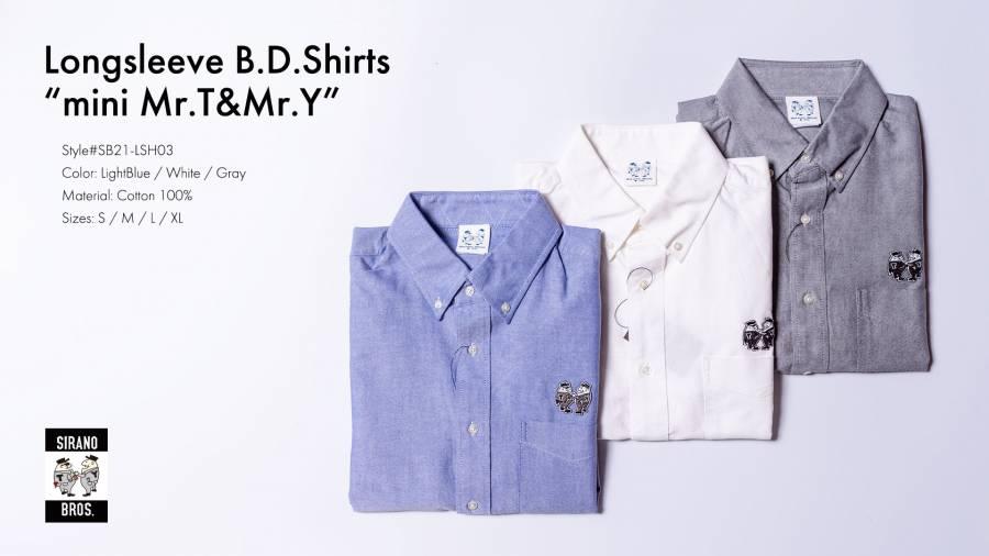 LS BD Shirts
