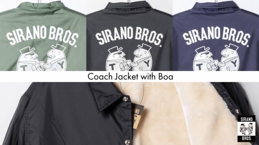 Coach Jacket with Boa