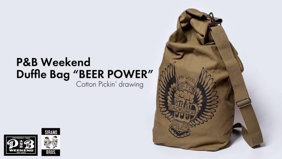 P&B Weekend DuffleBag